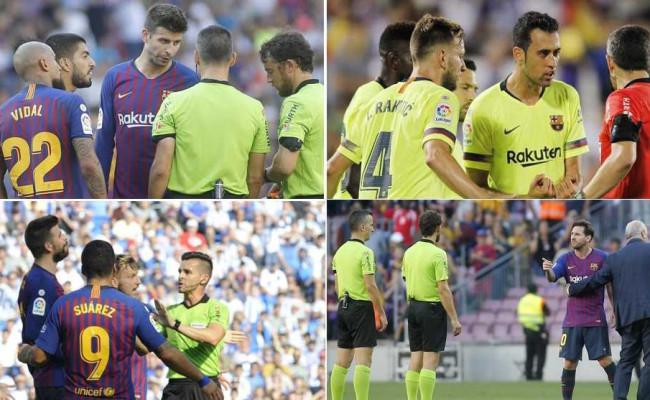7a45d6dd4 Barca si vybíja frustráciu za zlé výsledky na rozhodcoch. Až 3 žlté karty  za protesty proti Bilbau. v kategórii: Futbal ...