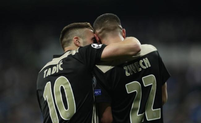 667a38b7b575e Video: Real Madrid šokujúco nezvládol odvetu, do štvrťfinále Ligy majstrov  ide Ajax