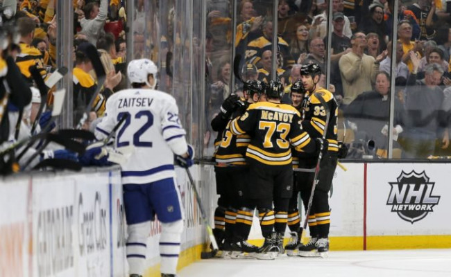 b5ce1c0935389 Video: Boston v play-off NHL vyradil Toronto, Chára v siedmom zápase s  troma pluskami