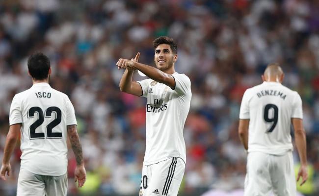 0f7ba95e436da Asensio prerušil šnúru bez gólu a zachránil tak Real Madrid ...