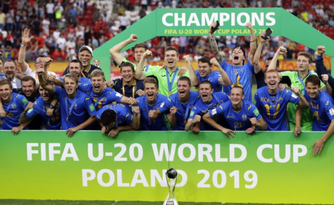 c3d24fe799b99 Ukrajina sa teší z historického úspechu, futbalisti triumfovali na MS vo  futbale do 20.