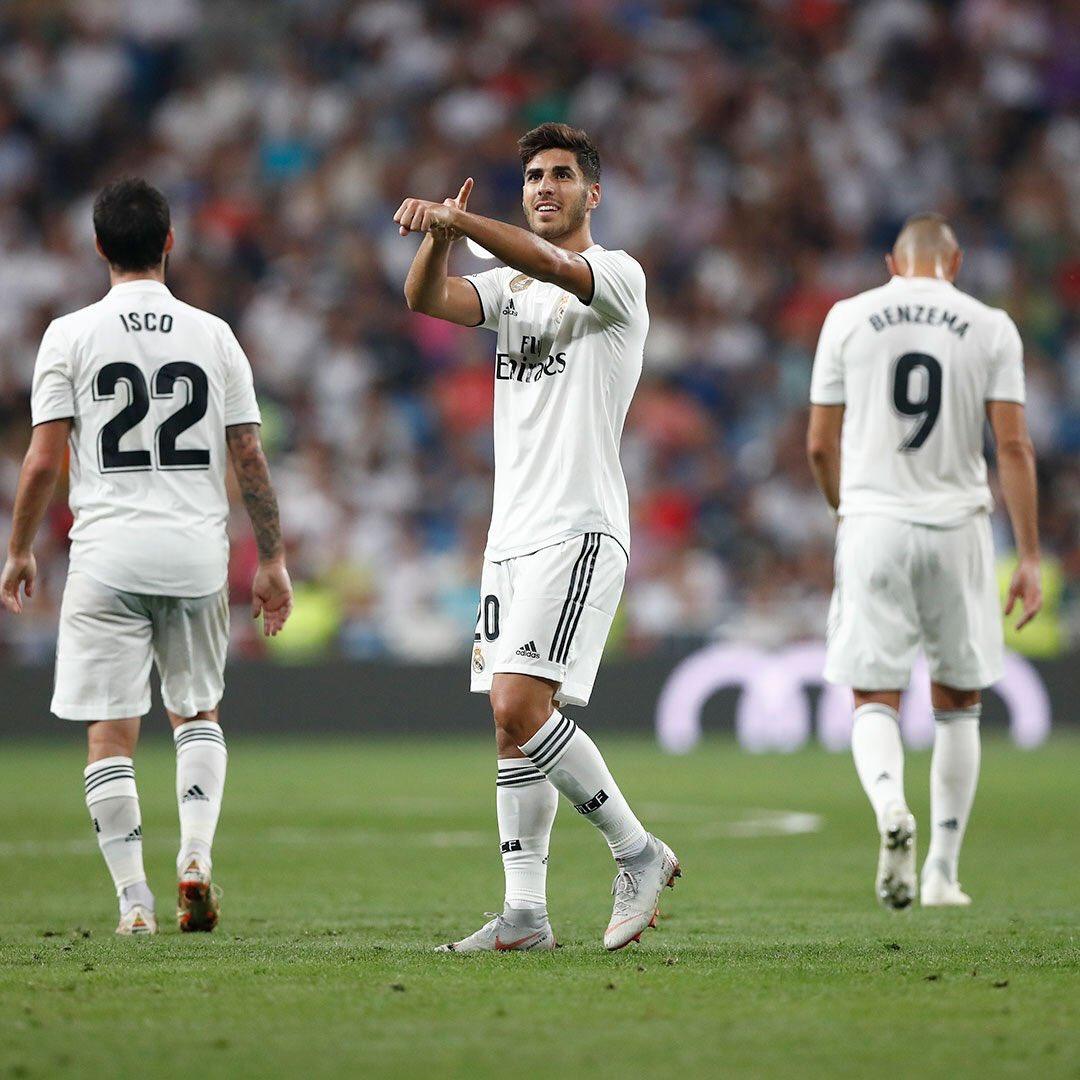 24463bc98c0e8 Asensio prerušil šnúru bez gólu a zachránil tak Real Madrid   SportDnes.sk